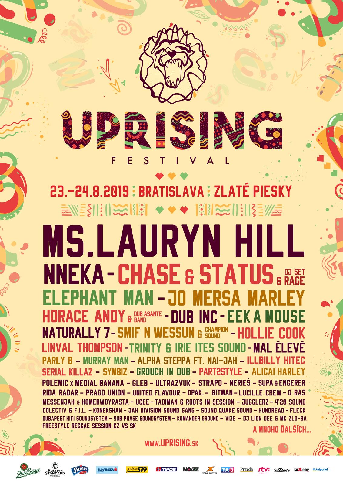 Uprising 2019 Poster - Uprising