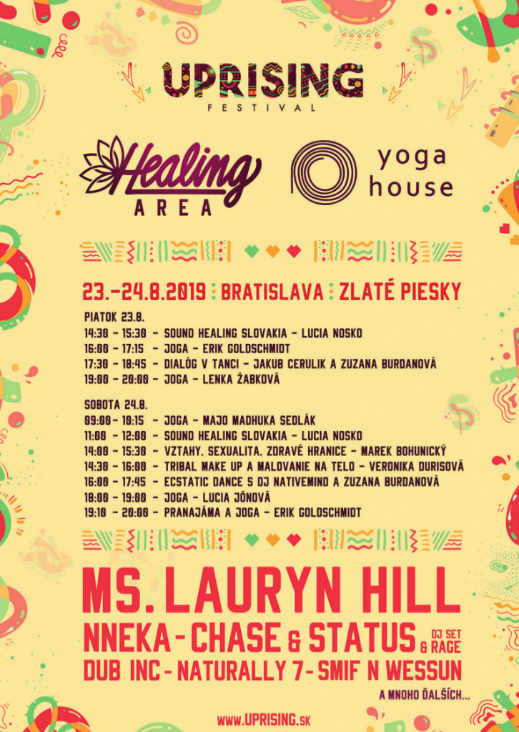 Festival noise getaway in the new Healing Area - Uprising